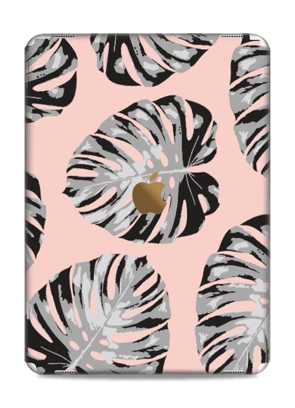 Salmon Leaves Skin IPad Pro 12.9