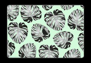 Pastellgrønne blader