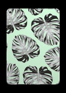 Feuilles turquoise Skin IPad Pro 9.7