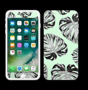 Feuilles turquoise Skin IPhone 6 Plus