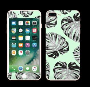 Feuilles turquoise Skin IPhone 7 Plus
