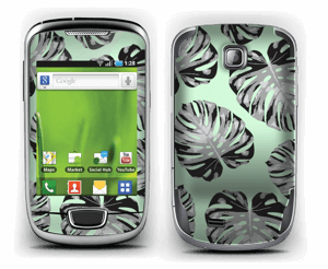 Green leaves patterm Skin Galaxy Mini