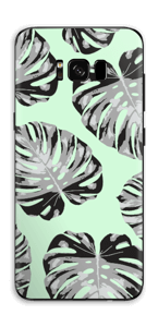 Feuilles turquoise Skin Galaxy S8 Plus