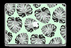 Mint Leaves Skin MacBook Pro 17