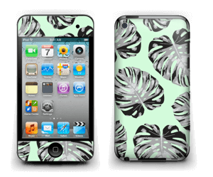 Feuilles turquoise Skin IPod Touch 4th Gen