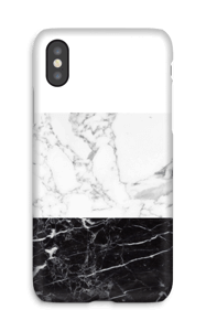 Personlig marmor cover cover IPhone X