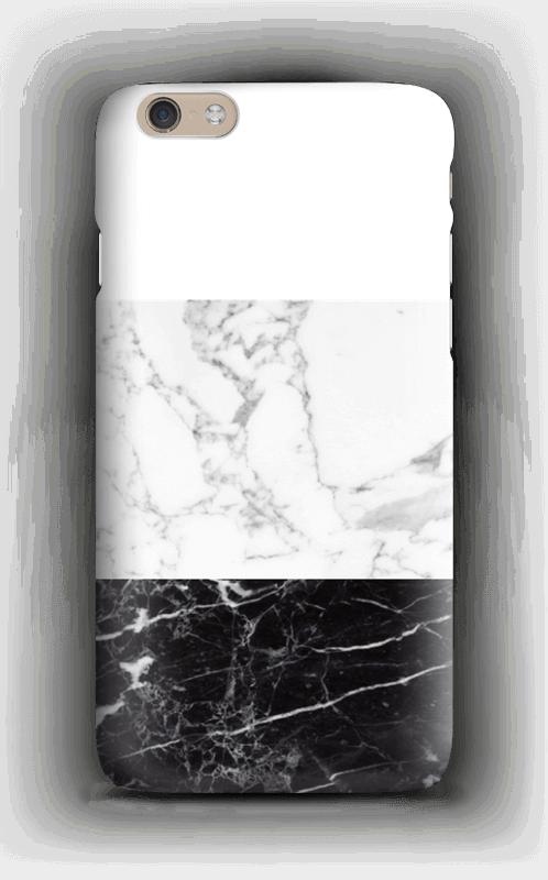 Marmorisekoitus kuoret IPhone 6 Plus