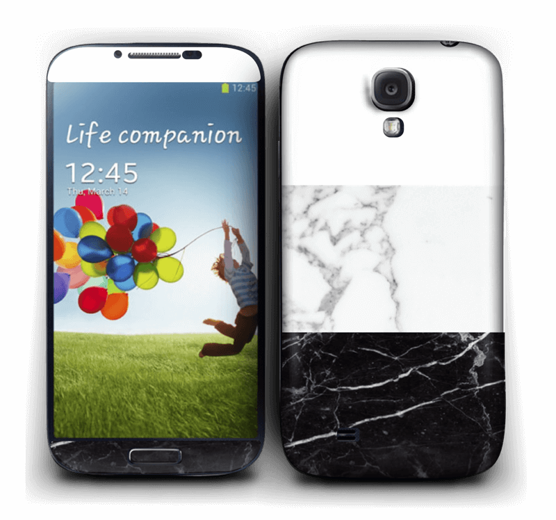 Make it custom Skin Galaxy S4