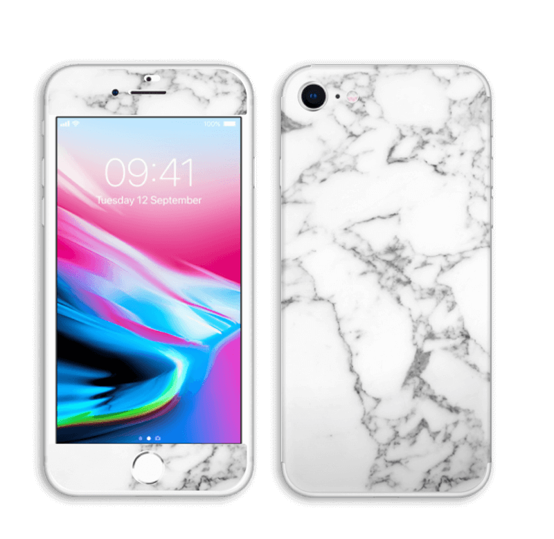 Lovely marble Skin IPhone 8