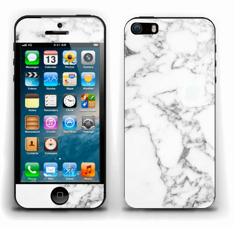 Ideal Marble  Skin IPhone 5s