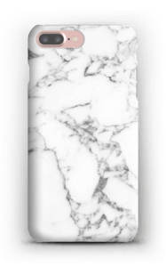 Carrara marmor deksel IPhone 7 Plus