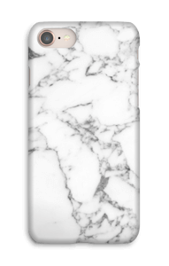 Carrara marmor deksel IPhone 8