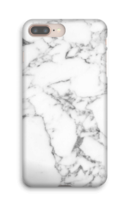 Carrara marmor deksel IPhone 8 Plus