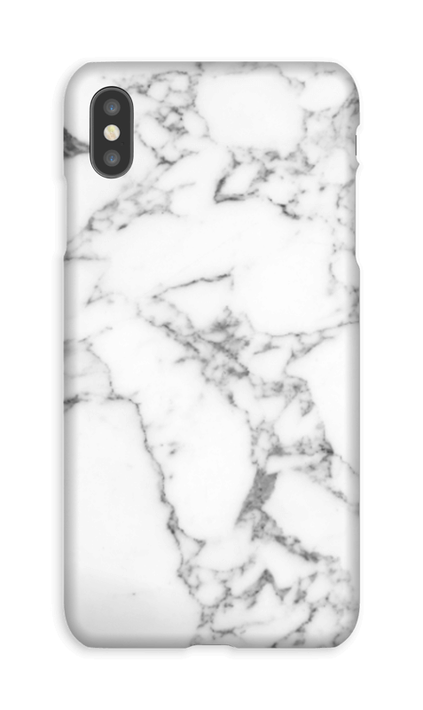 Carrara marmor deksel IPhone XS Max