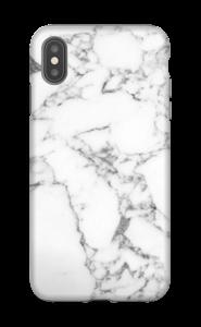 Carrara marmor deksel IPhone XS Max tough