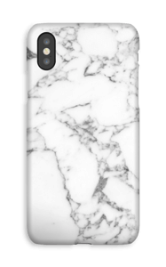 Carrara marmor deksel IPhone XS