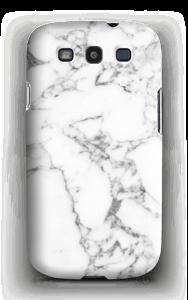 Carrara marmor deksel Galaxy S3