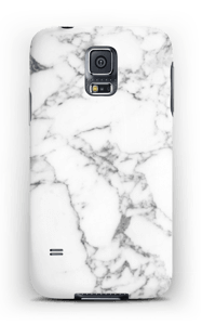 Carrara marmor deksel Galaxy S5