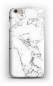 Carrara marmor deksel IPhone 6 Plus