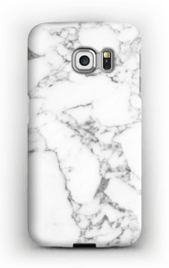 Carrara marmor deksel Galaxy S6 Edge
