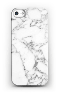 Carrara marmor deksel IPhone SE