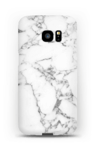 Carrara marmor deksel Galaxy S7 Edge