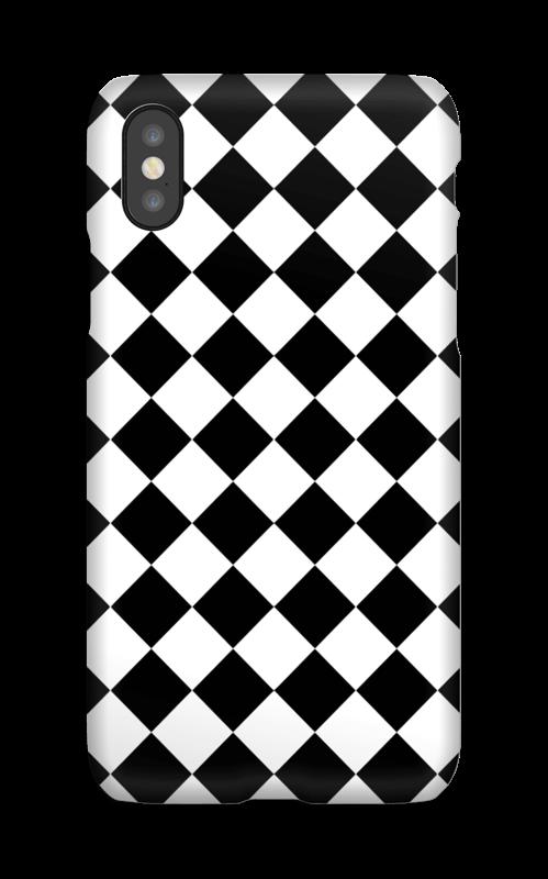 coque iphone x carreaux