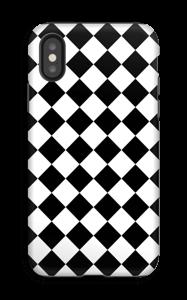 Salmiakki kuoret IPhone X tough