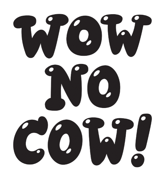 Wow no cow sticker
