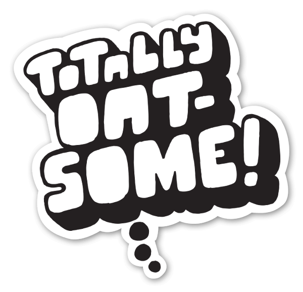 Totally Oat-some sticker