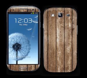 Træ Skin Galaxy S3