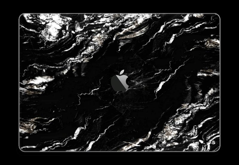 """More black marble Skin MacBook Pro 15"""" 2016-"""