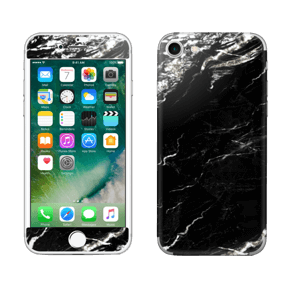 More black marble Skin IPhone 7