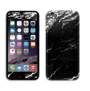 More black marble Skin IPhone 6/6s