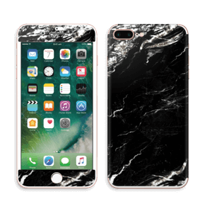 More black marble Skin IPhone 7 Plus