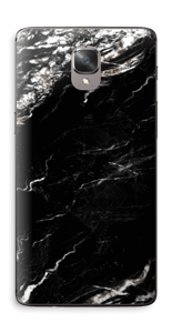 More black marble Skin OnePlus 3T