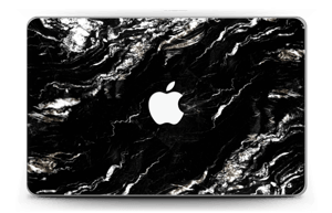 More black marble Skin MacBook Air 11