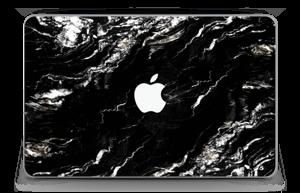 "More black marble Skin MacBook Air 11"""