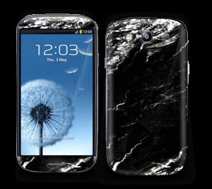 Varm Sort Skin Galaxy S3
