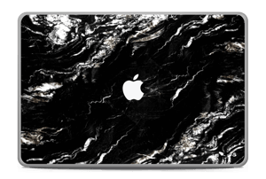 """More black marble Skin MacBook Pro 17"""" -2015"""