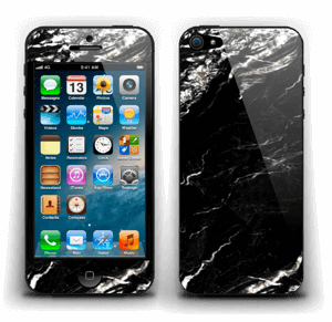 More black marble Skin IPhone 5