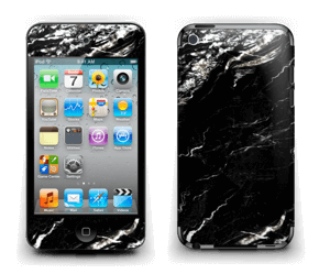 More black marble Skin IPod Touch 4th Gen