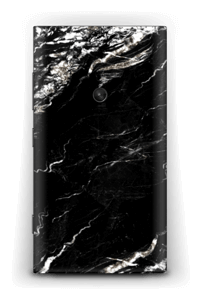 More black marble Skin Nokia Lumia 920