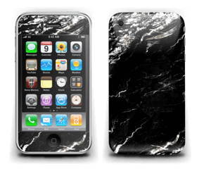 More black marble Skin IPhone 3G/3GS