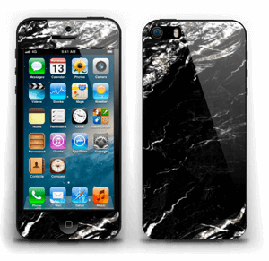 More black marble Skin IPhone 5s