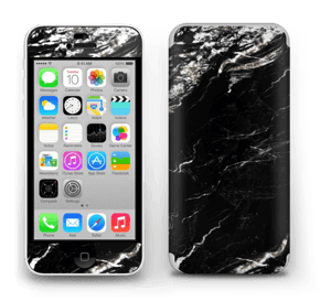 More black marble Skin IPhone 5c