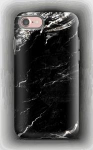 Zwart & Wit marmer hoesje IPhone 7 tough