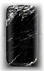 Zwart & Wit marmer hoesje Galaxy S3