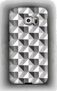 Kolmiulotteinen kuoret Galaxy S6 Edge