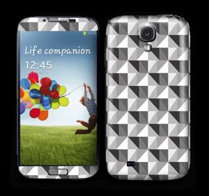 Kolmiulotteinen tarrakuori Galaxy S4